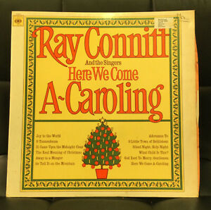 Ray Conniff And The Singers - Here We Come A-Caroling - Vinyl LP