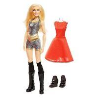 Wwe Superstars Wrestling Charlotte Flair Fashion Doll Figura Mattel