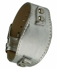 "Uhrenarmband ""Buckle-Up"" - silber - Stegbreite 10 mm, Unterlagen-Uhrband"