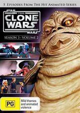 Star Wars: The Clone Wars - Season 3 - Volume 2 NEW R4 DVD