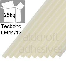 TECBOND LM44/12 Low Melt 12mm, 5x5kg (25kg) Glue Sticks suitable for Polystyrene
