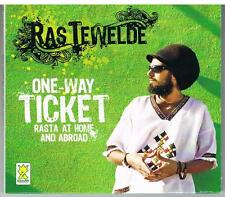 RAS TEWELDE - one-way ticket rasta at home and abroad - CD
