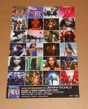 Destiny's Child Anthology 2013 Poster 17 x 11 Beyonce