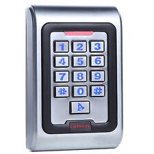 Metal Zinc Alloy  Access Control Keypad IP68 Waterproof Standalone Backlight.