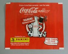 PANINI EURO 2012 EM TÜTE TYP COCA COLA INTERNATIONAL PACKET PACK BUSTINA SOBRE