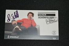 RAINER SCHÖNFELDER signed Autogramm  10x18 cm 2x OLYMPIA BRONZE Slalom