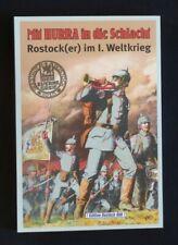 Chronik Rostock/Mecklenburg Mit Hurra in die Schlacht, Rostocker im 1.Weltkrieg