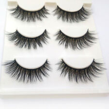 3 Pairs of Handmade False Eyelashes