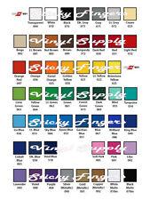 "5 SHEETS ORACAL 651 Vinyl 6"" X 12"" 56 COLORS! Craft Adhesive Sheet"