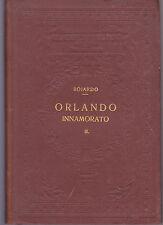 Orlando innamorato di Boiardo VOL. 2 1926
