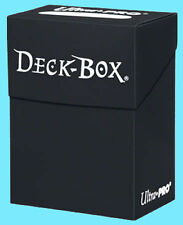 Ultra Pro BLACK DECK BOX New Standard Small Size Card Holder gaming trading mtg