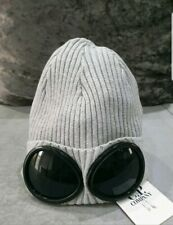 C.P. Company beanie hat Ribbed Goggle GREY BIG SALE UK SELLER BNWT