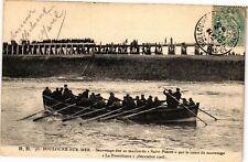 CPA  Boulogne - sur . mer .- Sauvetage des 20 marins du  (196368)