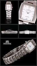 Festina Women's Watch Very Elegant Oblong Form Pretty NEW