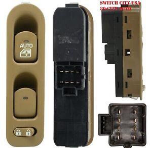 NEW OEM Saturn 2002 L LS Series Driver Master Power Window Switch Oak 22688685