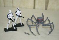 STAR WARS ~ Droid Attack on the Coronet Pack ~ Red Eye & Mixer ~ Spider Assassin