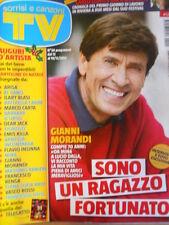 TV Sorrisi e Canzoni n°50 2014 Carlo Conti Sanremo Gianni Morandi  [D49]