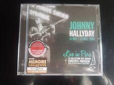 CD 15 Titres Johnny Hallyday Live in Paris 31 Octobre & 13 Décembre 1962
