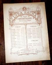 Pie Jesu partition orgue ou piano chant baryton ou mezzo 1877 Franz Schubert