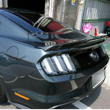Carbon For Ford Mustang 6th Coupe 2DR GT350 V Look Rear Trunk BOOT Spoiler