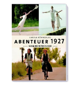 2 DVD NEU *** ABENTEUER 1927 SOMMERFRISCHE *** CAROLA RÖNNEBURG ( 1900 )