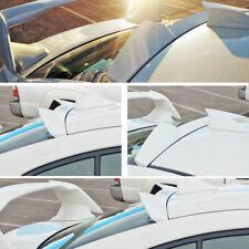 Painted For Subaru WRX STI 4th 4D Sedan High Kick V Roof Spoiler 15-18