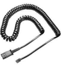 For Plantronics 38099-01 U10P-S Cable for Yealink and Snom
