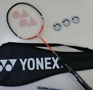 YONEX Muscle Power 2 Badminton Racquet MP2 w/Full Cover, Strung, Orange