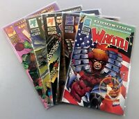 MALIBU Comics WRATH (1994) #1 2 3 4 6 VF/NM (9.0) Ultraverse LOT Ships FREE!