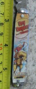 Vintage Roy Rogers and Trigger - Pocket Knife, Novelty Knife Co Ireland