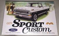 Moebius 1972 Ford Sport Custom Pickup 1/25 plastic model kit new 1220