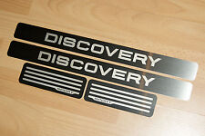 LAND ROVER DISCOVERY SPORT DOOR SILL TREAD PLATES FULL SET OF 4
