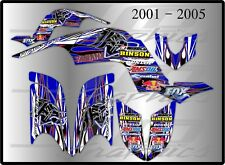 YAMAHA RAPTOR 660R full graphics kit 2001 2005 ...