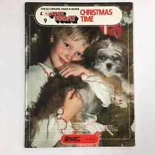 EZ Play Today #9 Christmas Time Sheet Music Song Book Piano Organ 1975 Rare OOP
