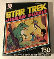 1974 STAR TREK BATTLE ON THE PLANET ROMULON JIGSAW PUZZLE SEALED New VTG HG Toys