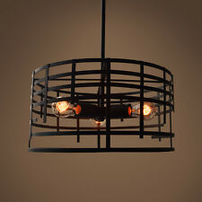 Modern chandelier Industrial metal Pendant Hanging Lamp Light Metal New