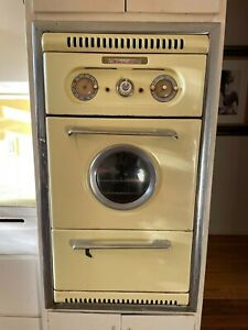 Vintage Western Holly wall oven - working condition 1955 mid century modern