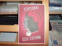grafica futurista - 1939 stampa propagandistica STRYCHNAL FOSFO-STRYCHNAL