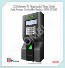 ZKSoftware Fingerprint Time Clock And Access Controller System With TCP/IP/F8