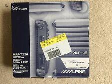 Alpine MRP-T220 2/1 Channel Power Amplifier NEW
