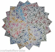 Quilting Patterns Quilting Fabric Charm Packs Quilting Fabric Squares 5'' New