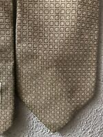 Gucci Iconic Cravatta GG Monogramm Avorio New Tie Silk Lazo Soie