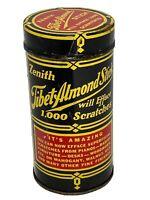 Zenith Tibet Almond Stick Tin w/ Contents Scratch Fix Woodwork Furniture Vintage