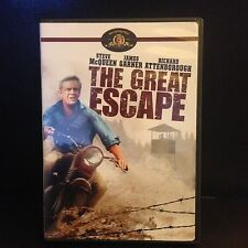 THE GREAT ESCAPE UNRATED 2006 MGM DVD STEEVE MCQUEEN NEW OOP REGION 1