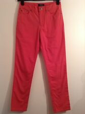 BNWT 100% Auth RALPH LAUREN, Boys Red Coral Slim Fit Chinos trousers. 14 Yrs