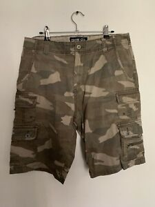 Iron Co Camo Shorts Military Army Style Size 32