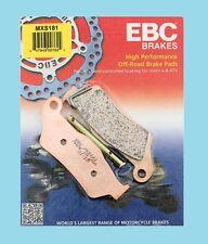 EBC MXS181 Pastillas de Freno Sinterizadas Delanteras Husaberg Te TE125 TE250 &