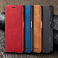 For Samsung Galaxy A7/A750 A8 A6 2018 Magnetic Wallet Flip Leather Case Cover