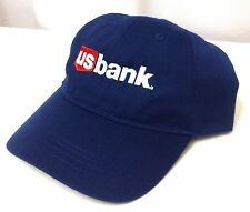 NEW Made-From-Recycled-Plastic US BANK HAT Nav/Red/White Relaxed-Fit Men/Women