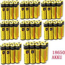 8x Lithium Ionen Akku 3,7 V Li-Ion 6000mAh 18650 Modellbau Akkus Batterien